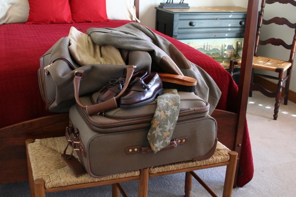 Sådan pakker du kufferten til rejsen – 5 steps
