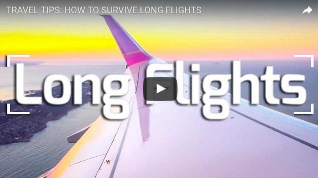 Sådan overlever du den lange flyvetur