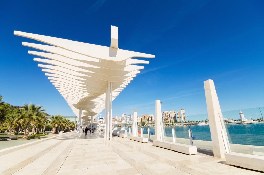 Malaga – din feriedestination også når flyet forsinkes