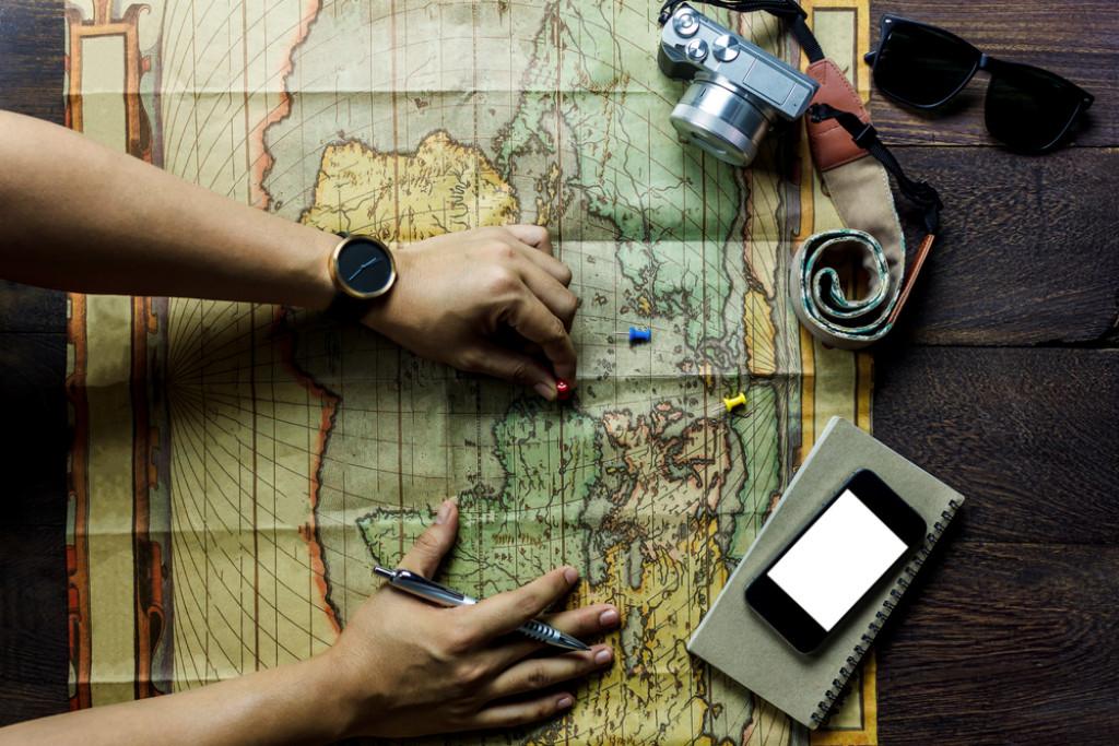 Går aldrig ned på udstyr – heller ikke på ferien