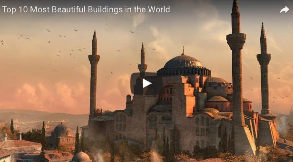 De 10 flotteste bygninger i verden